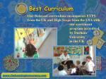 best curriculum