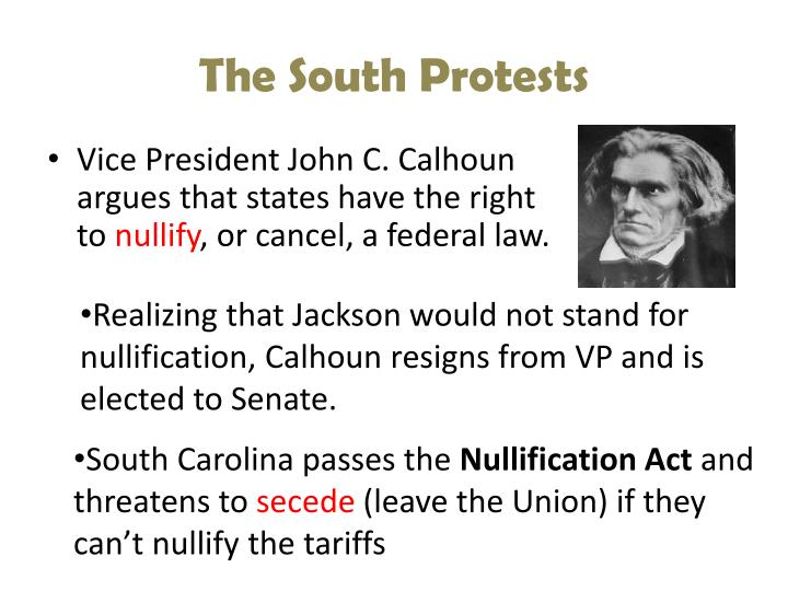 The South Protests