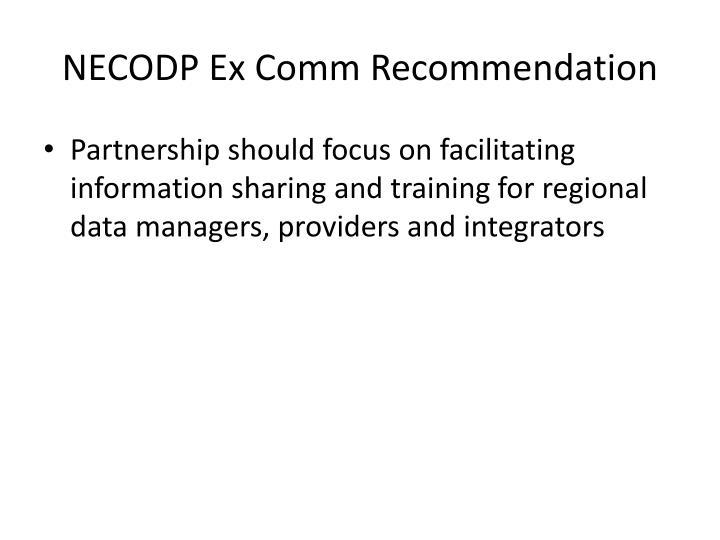 NECODP Ex