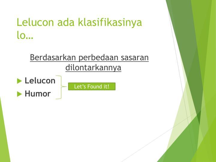 Lelucon