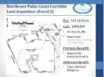 northeast palm coast corridor land acquisition parcel 3