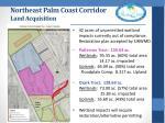 northeast palm coast corridor land acquisition2