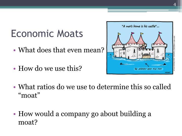 Economic Moats