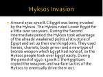 hyksos invasion