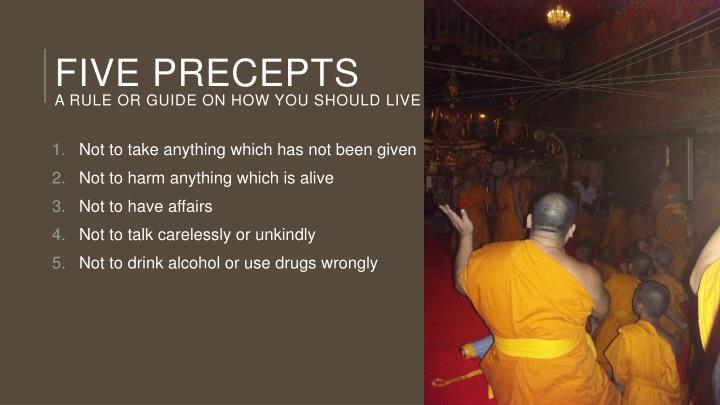 Five precepts