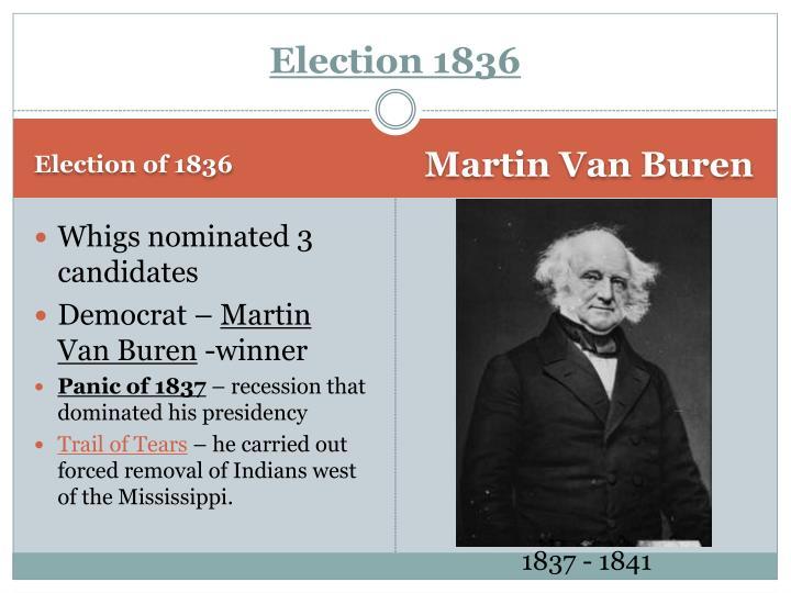 Election 1836