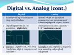 digital vs analog cont1