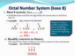 octal number system base 8