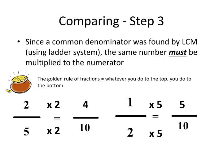 Comparing - Step 3