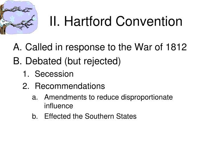 II. Hartford Convention