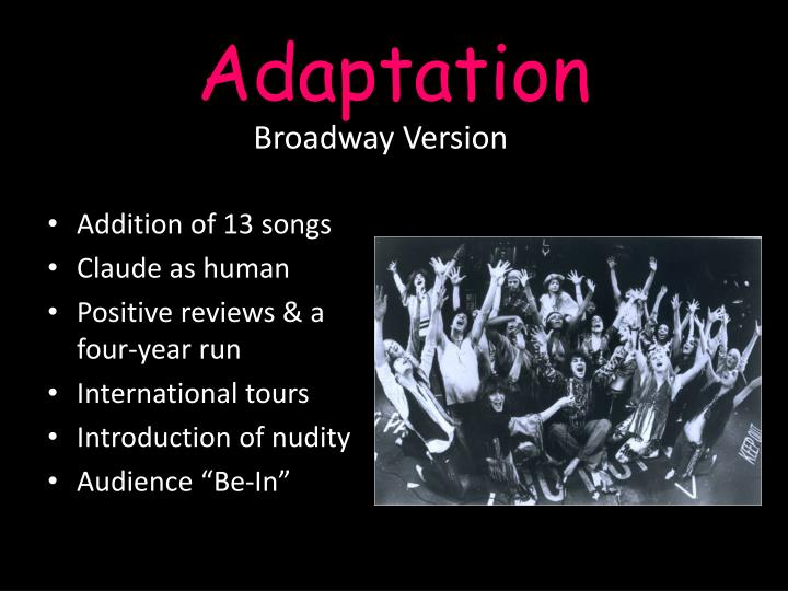 Broadway Version