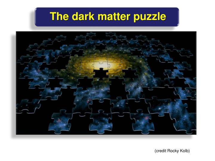 The dark matter puzzle