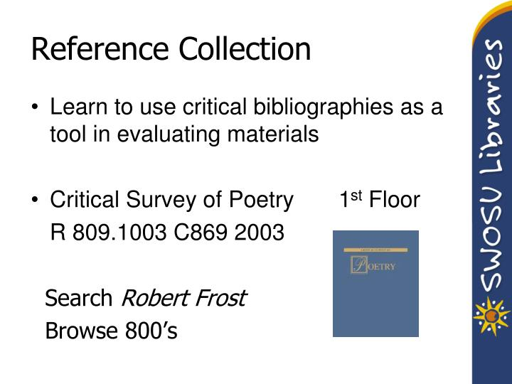Reference Collection