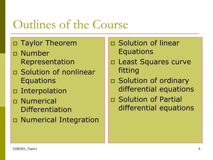 Taylor Theorem