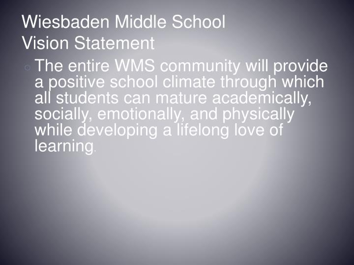 Wiesbaden Middle School