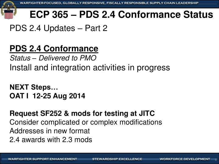 ECP 365 –