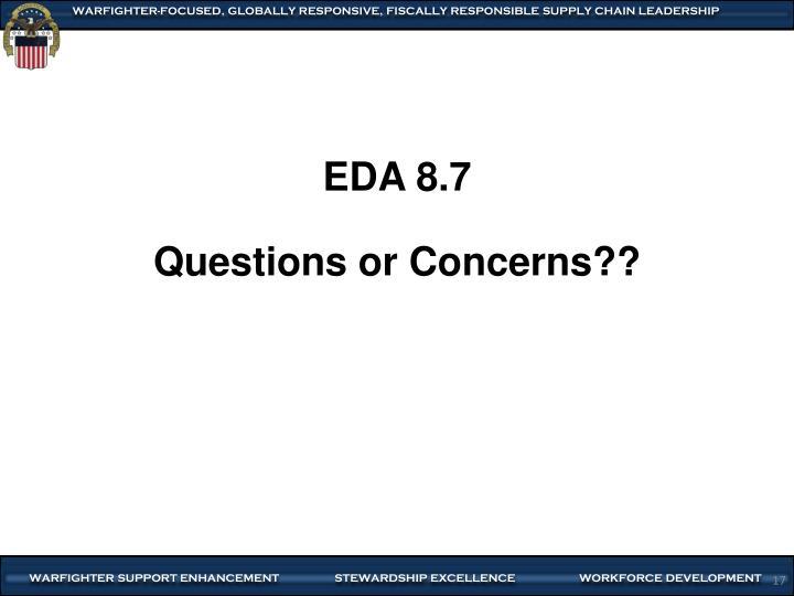EDA 8.7