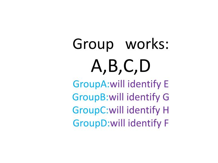 Group   works: