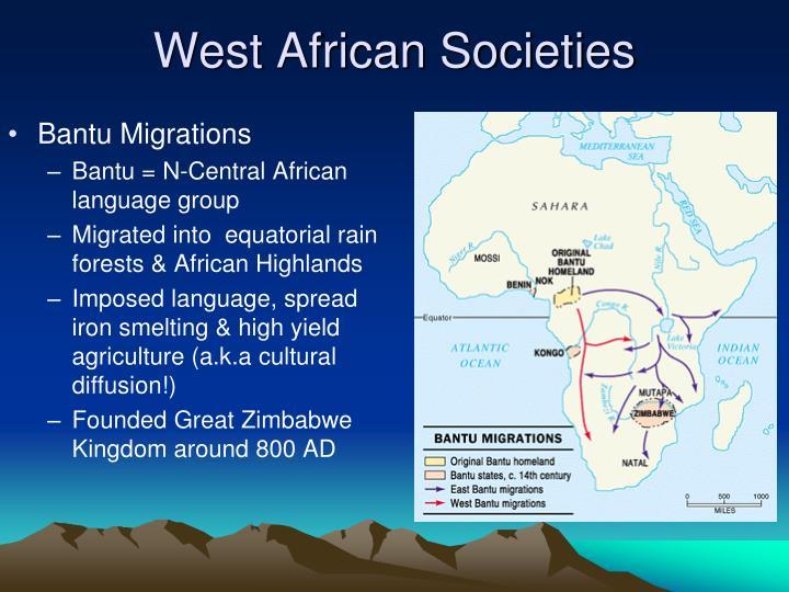 West African Societies