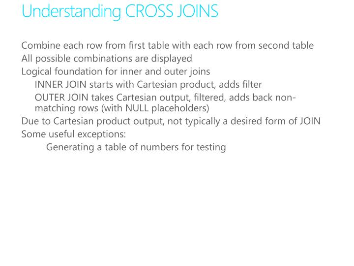 Understanding CROSS