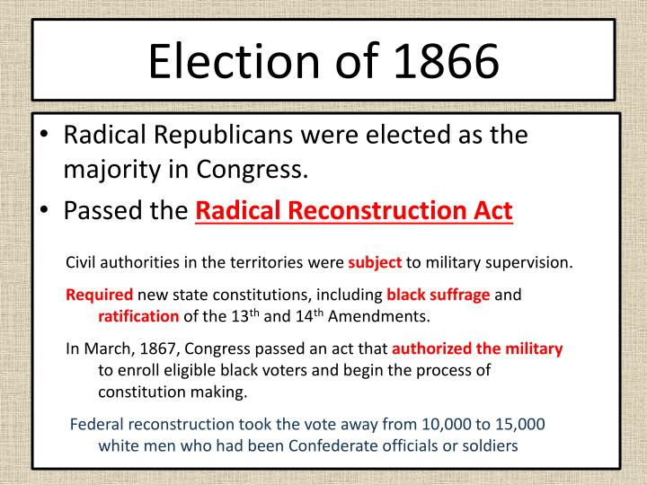 Election of 1866