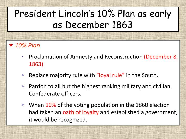 President Lincoln's