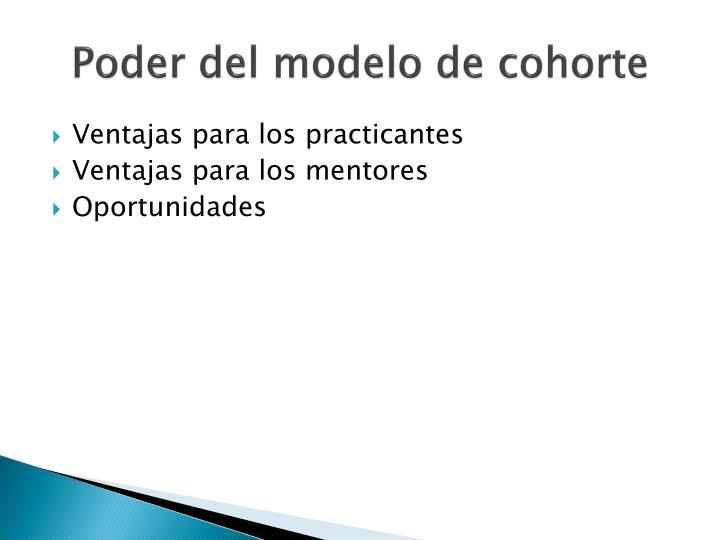 Poder del modelo de cohorte