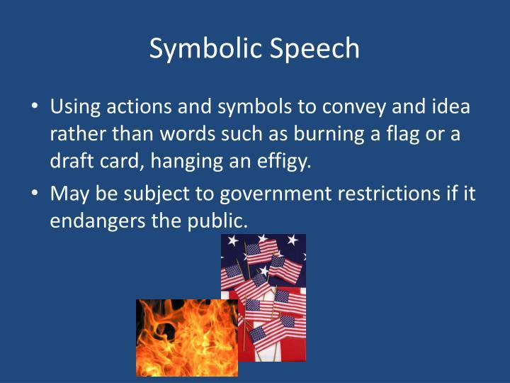 Symbolic Speech