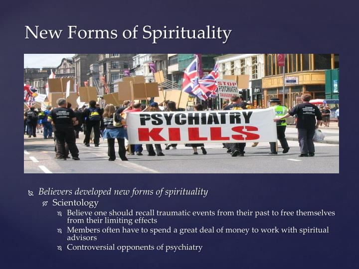 Believers developed new forms of spirituality