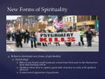 new forms of spirituality