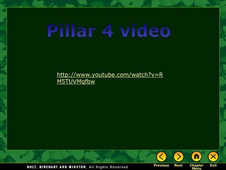 Pillar 4 video