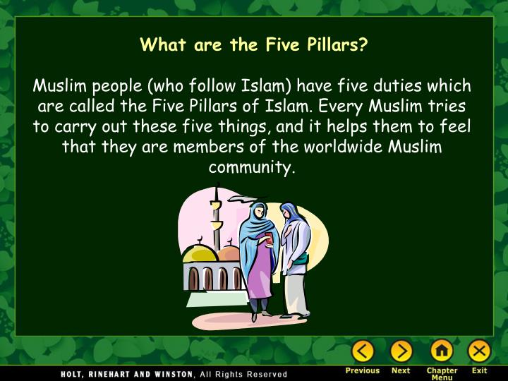 What are the Five Pillars?