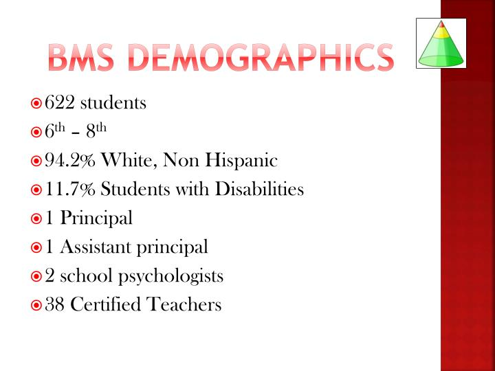 BMS demographics