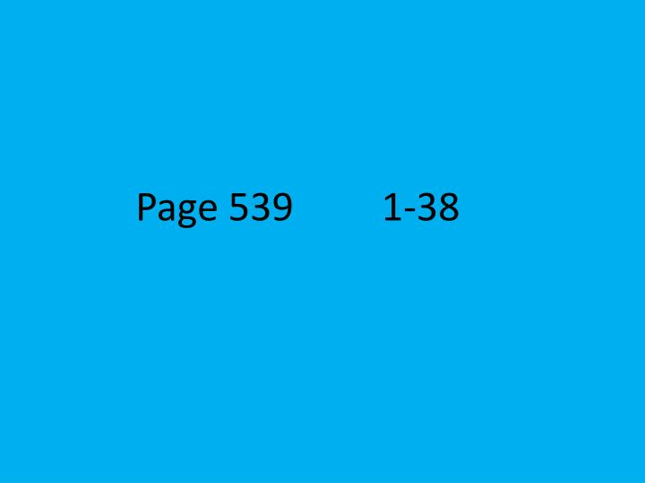 Page 539         1-38
