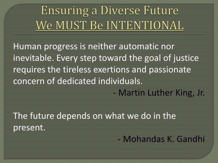 Ensuring a Diverse