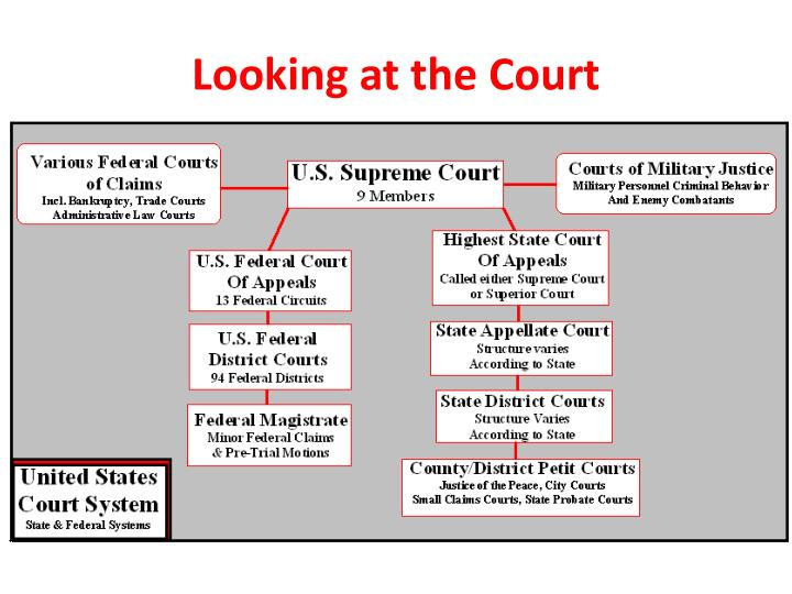 Looking at the Court
