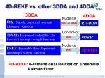 4d rekf vs other 3dda and 4dda