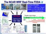 the ncar wrf real time fdda