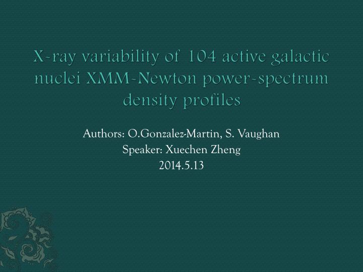 x ray variability of 104 active galactic nuclei xmm newton power spectrum density profiles