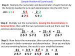 sample problem 2 continued