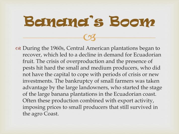Banana's Boom