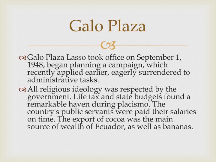 Galo Plaza