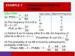example 3 computing an empirical probability1