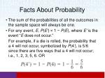 facts about probability1