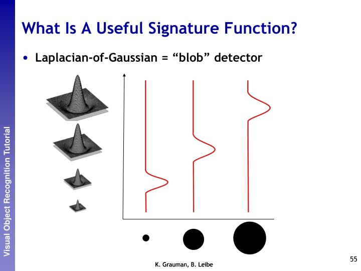 What Is A Useful Signature Function?