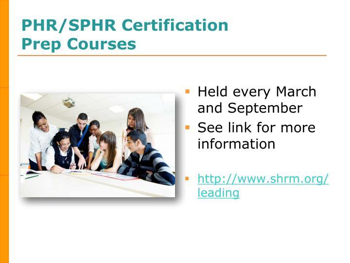 PHR/SPHR Certification