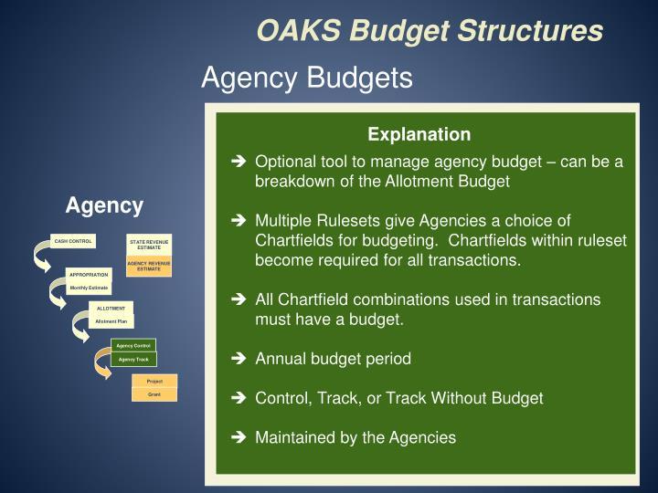 Agency Budgets