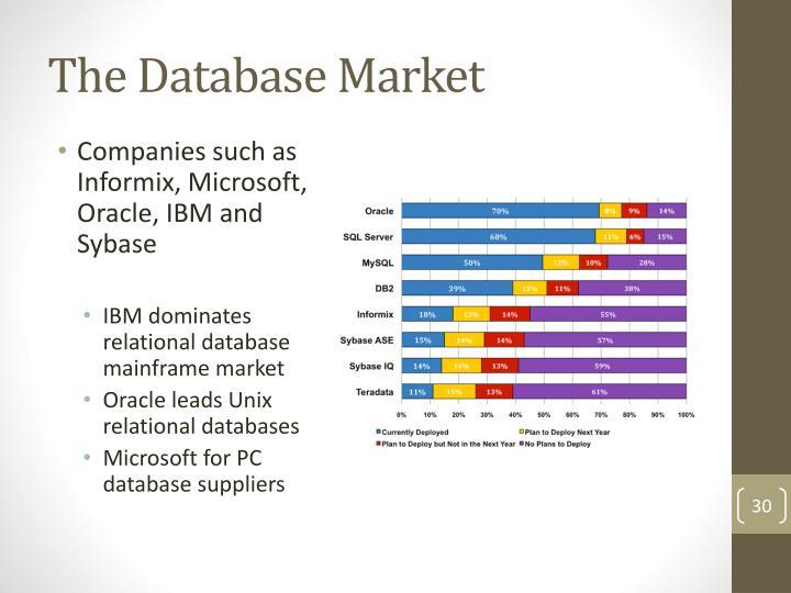 The Database Market