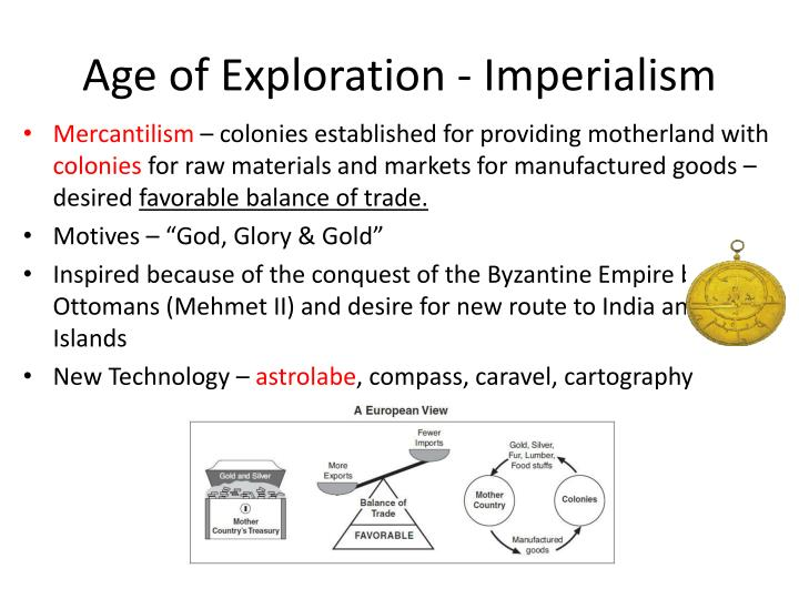 Age of Exploration - Imperialism