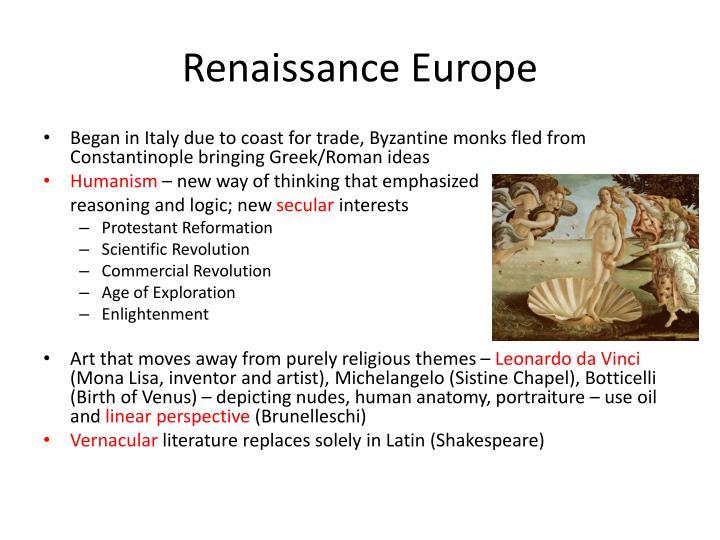 Renaissance Europe